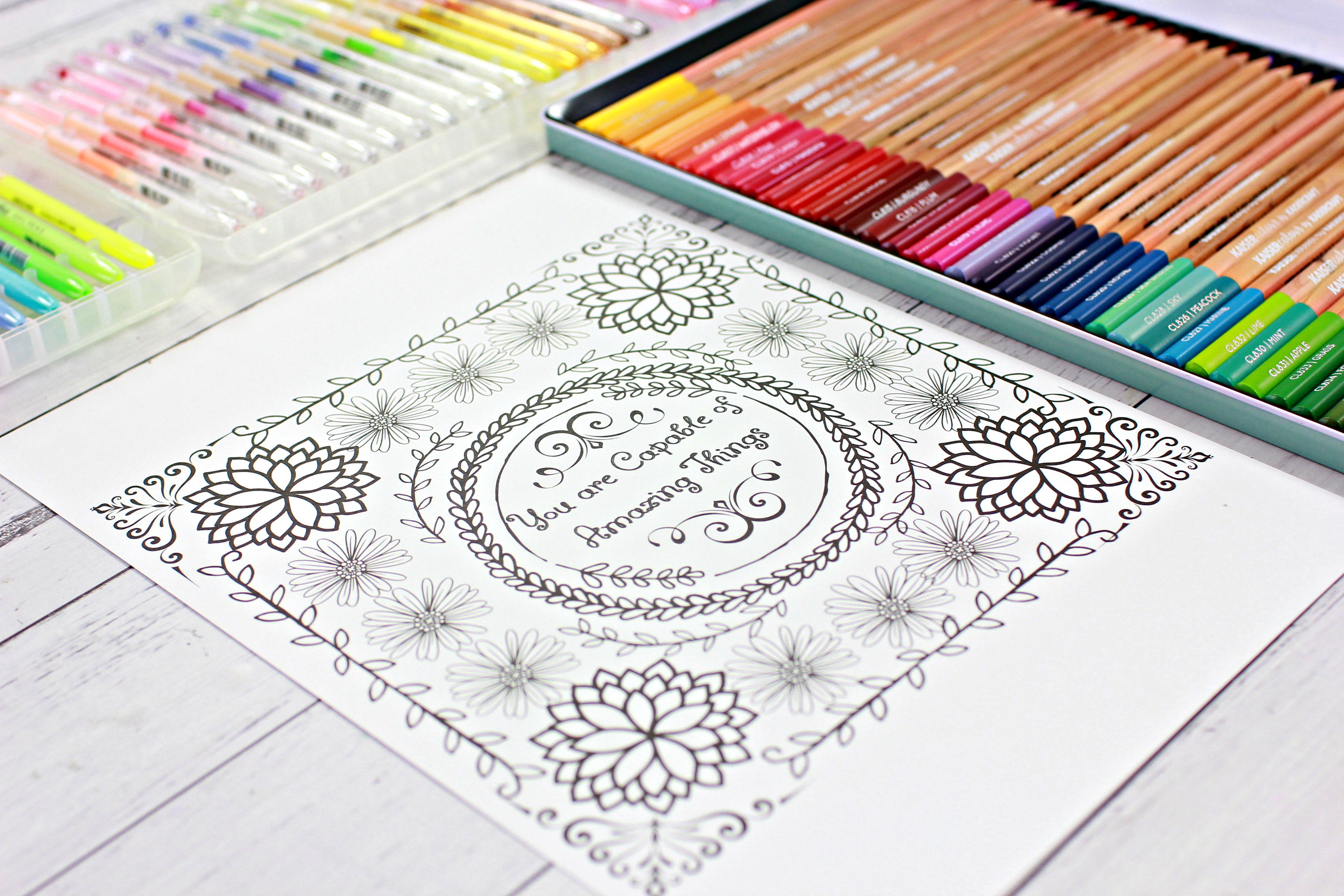 New Colouring Video and Subscriber Freebie : )