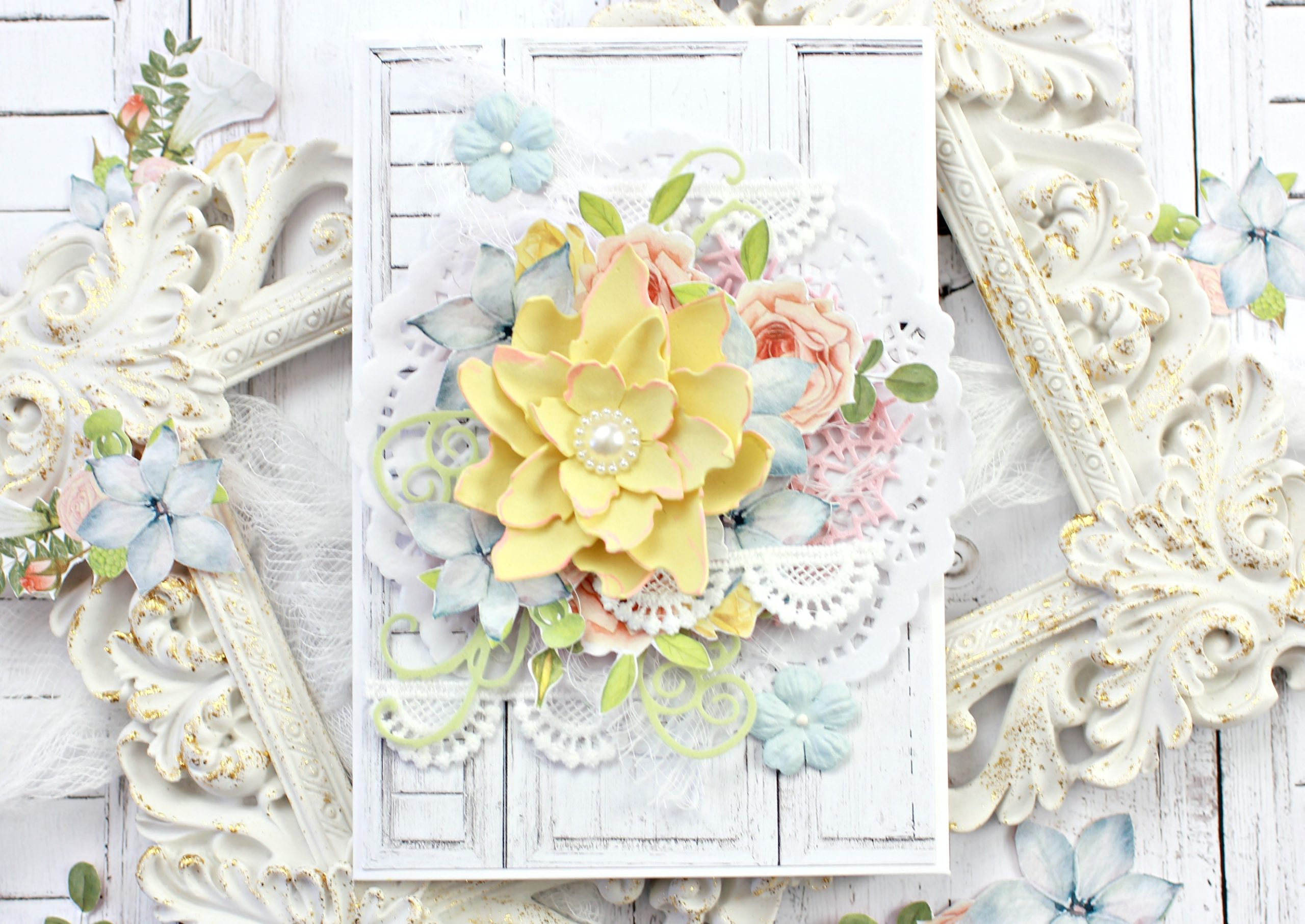 how to make a greeting card  paper craft secrets